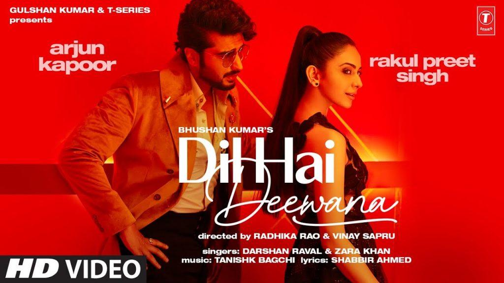 Dil Hai Deewana Lyrics in Hindi