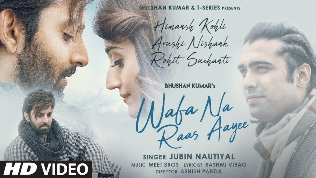 Wafa Na Raas Aayee Lyrics in Hindi